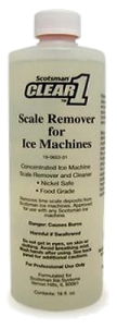 19-0653-01 Scotsman Clear 1 Scale Remover and Cleaner
