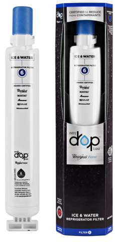 EDR6D1 Whirlpool Water Filter